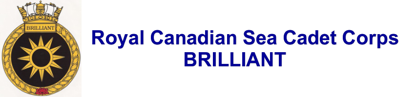 Royal Canadian Sea Cadet Corps BRILLIANT